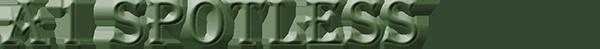 A1 Spotless Restoration Logo